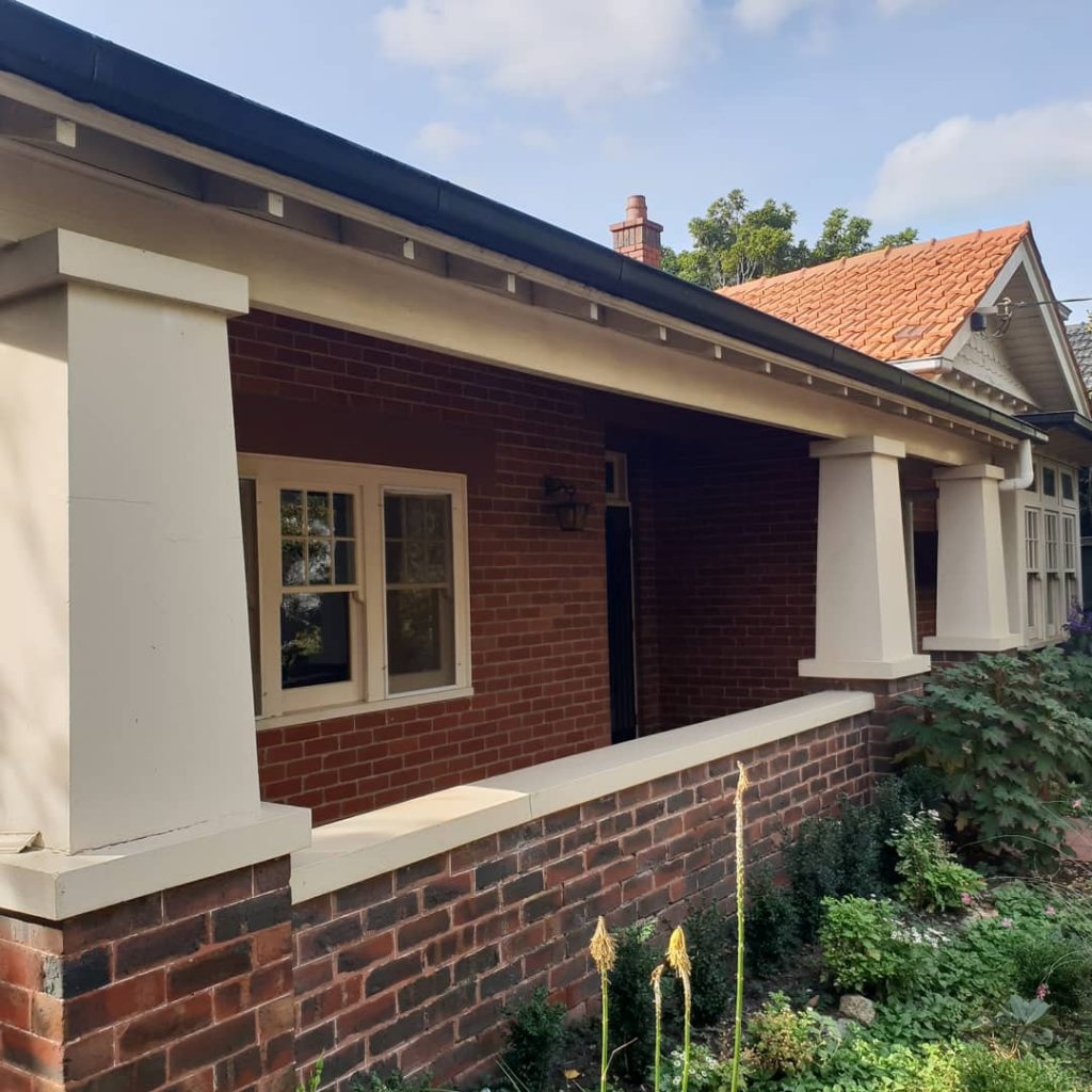 Exterior painting project in Hawthorn