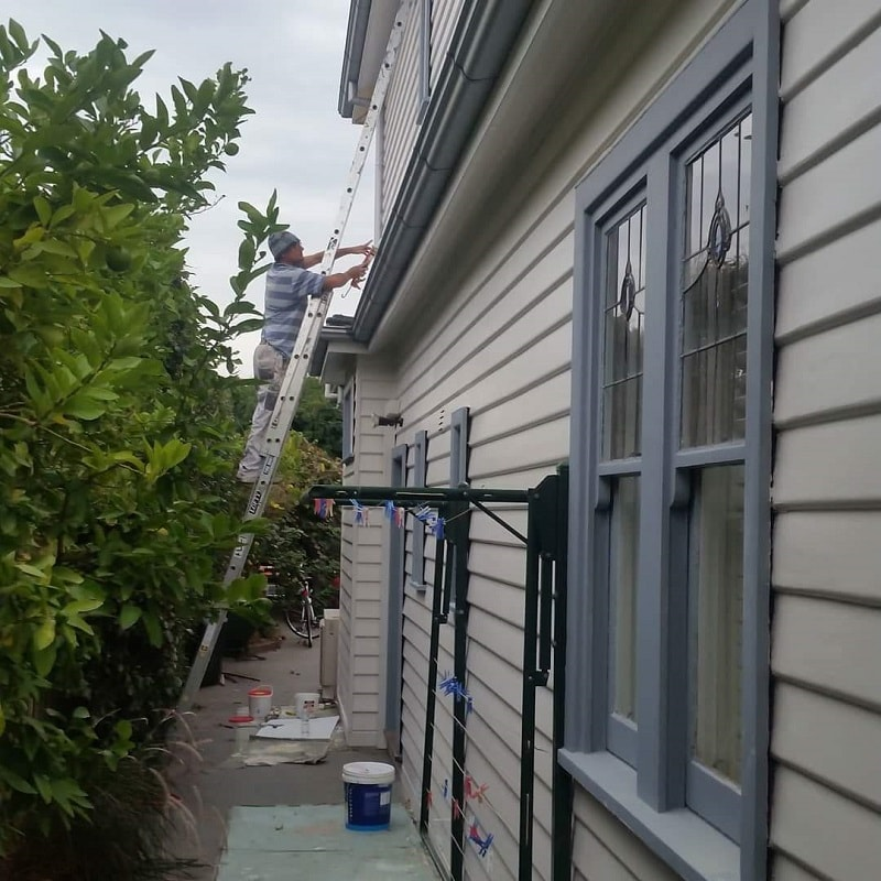 Yarraville Facade Painting Proccess