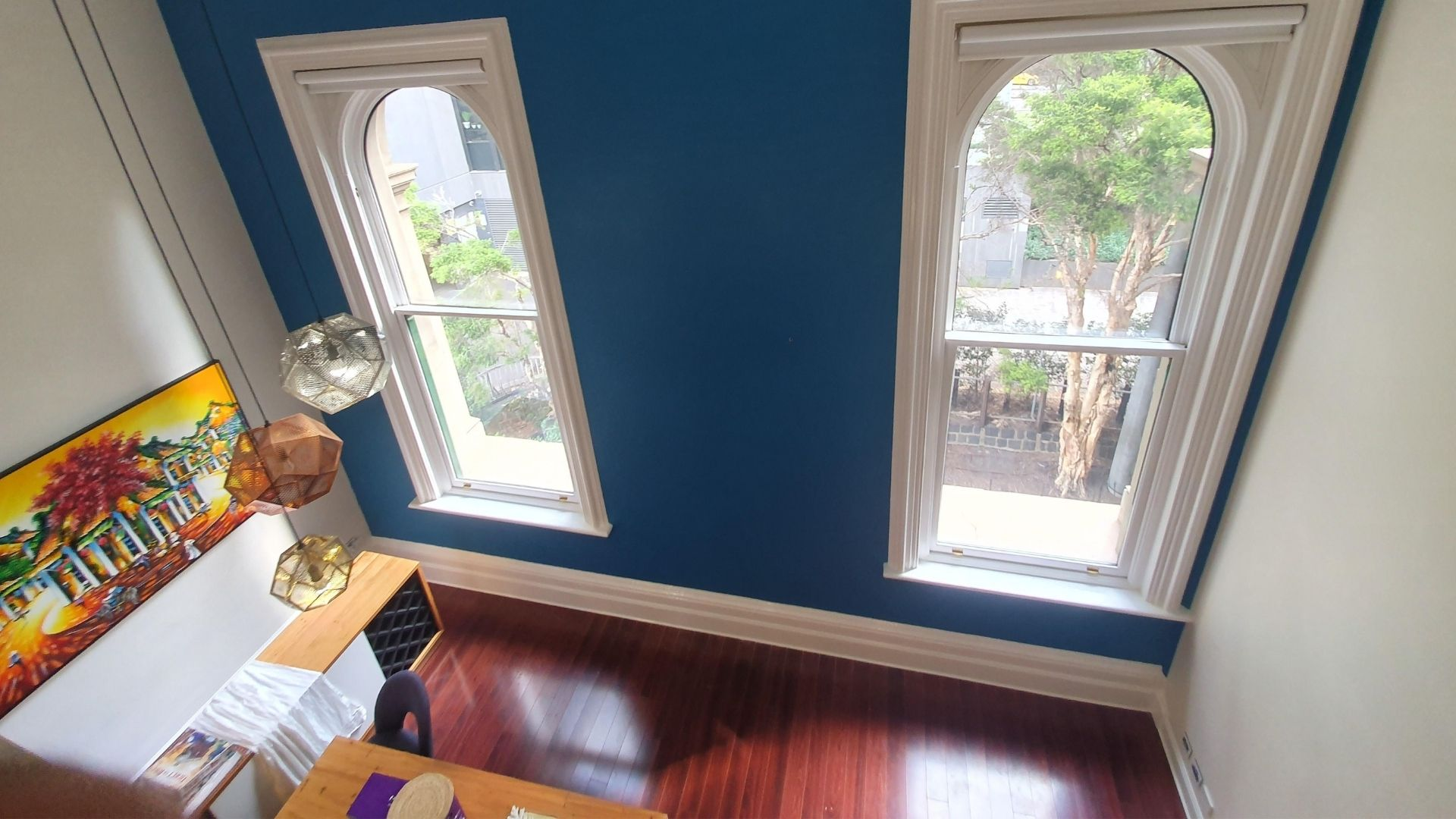 Double story apartment painting project in Melbourne - Mcintosh Painters